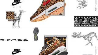 atmos × NIKE AIR MAX 1 & 95 ANIMAL PACKが3/25に発売予定