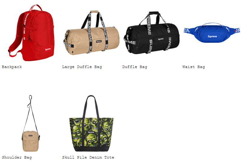 supreme-18ss-spring-summer-collection-bags-1