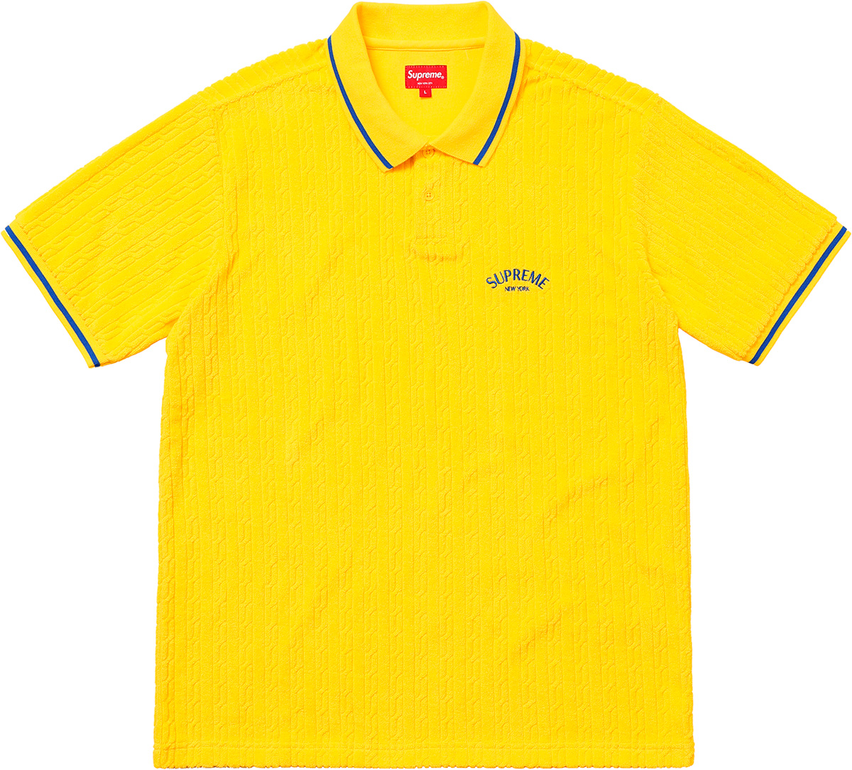 supreme-18ss-spring-summer-cable-knit-terry-polo