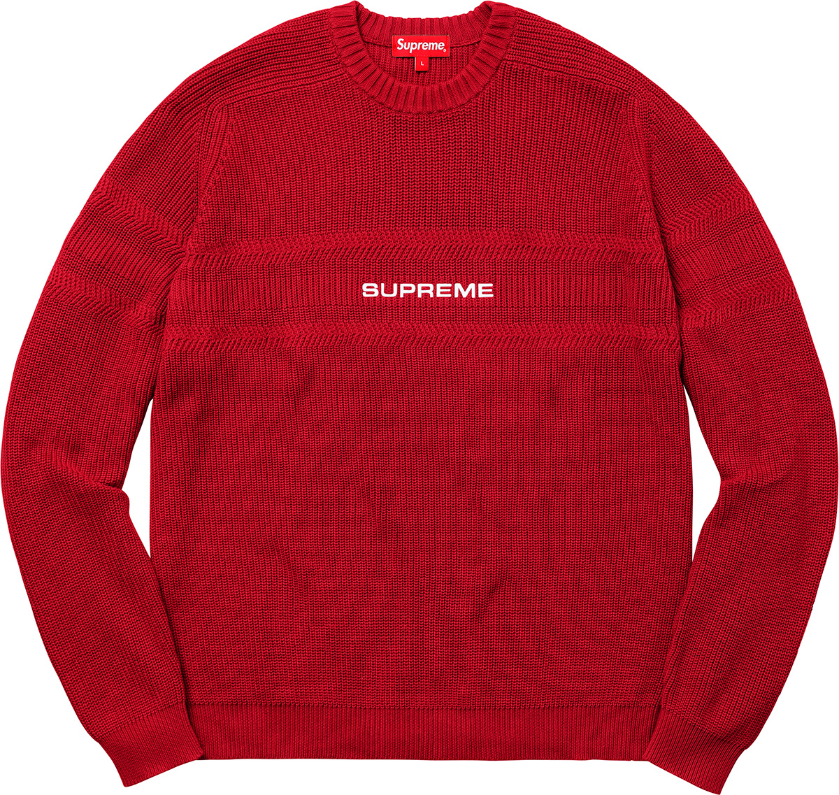 supreme-18ss-spring-summer-chest-stripe-raglan-sweater