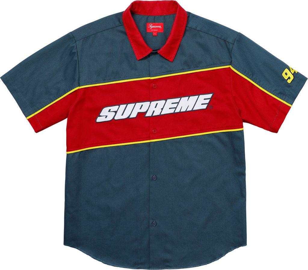 supreme-18ss-spring-summer-color-blocked-work-shirt
