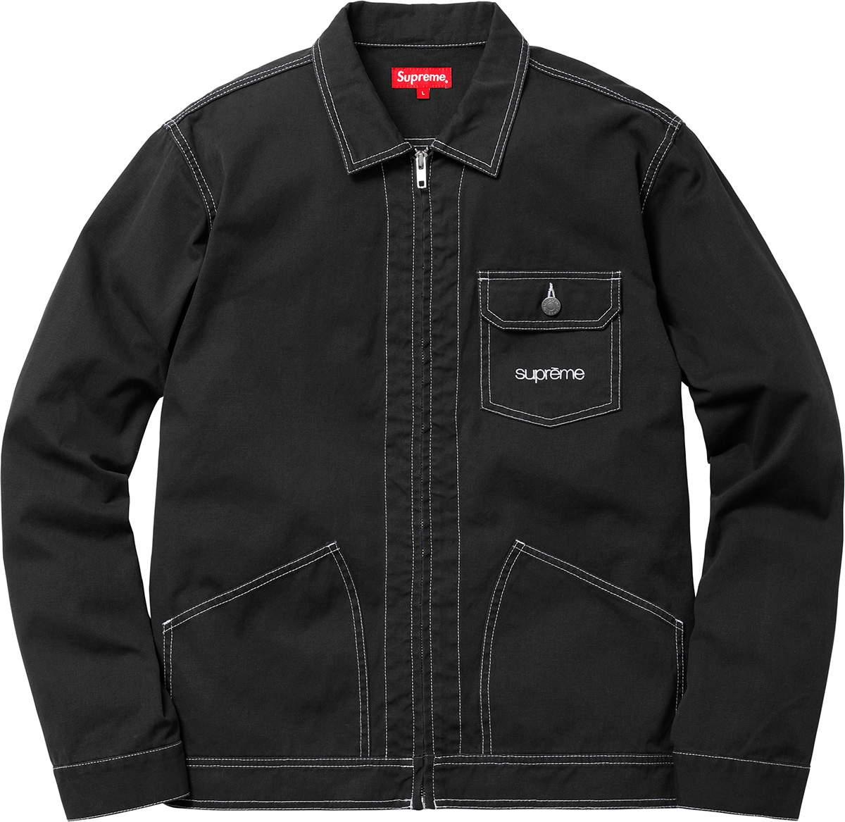 supreme-18ss-spring-summer-contrast-stitch-work-jacket