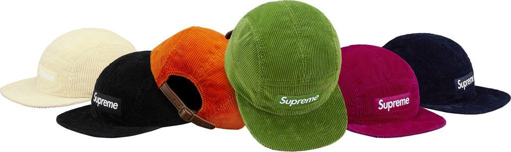 supreme-18ss-spring-summer-corduroy-camp-cap