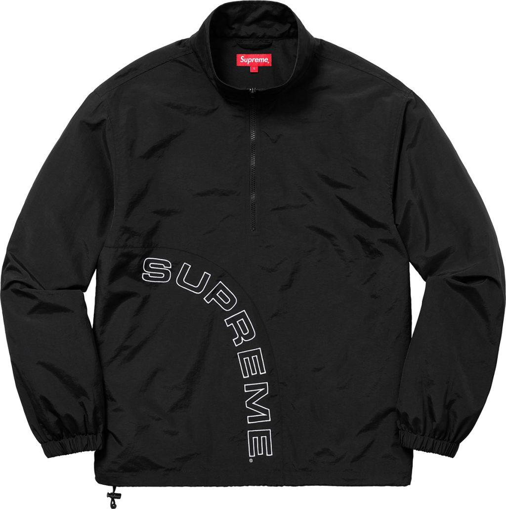 supreme-18ss-spring-summer-corner-arc-half-zip-pullover