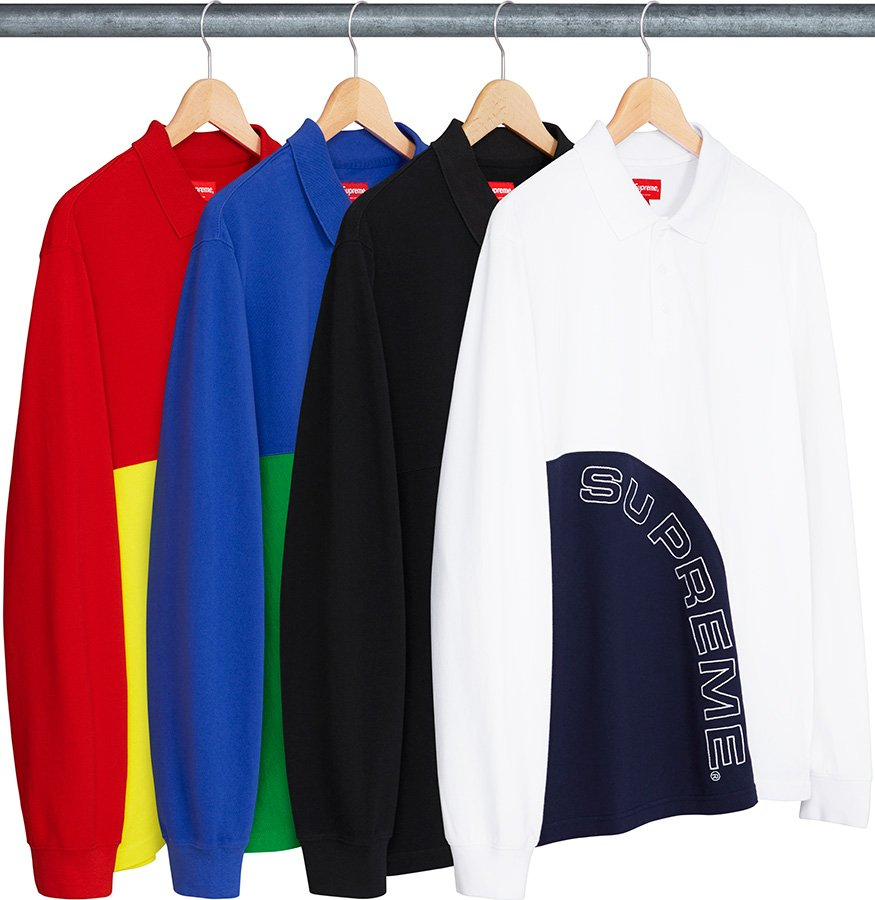 supreme-18ss-spring-summer-corner-arc-l-s-polo