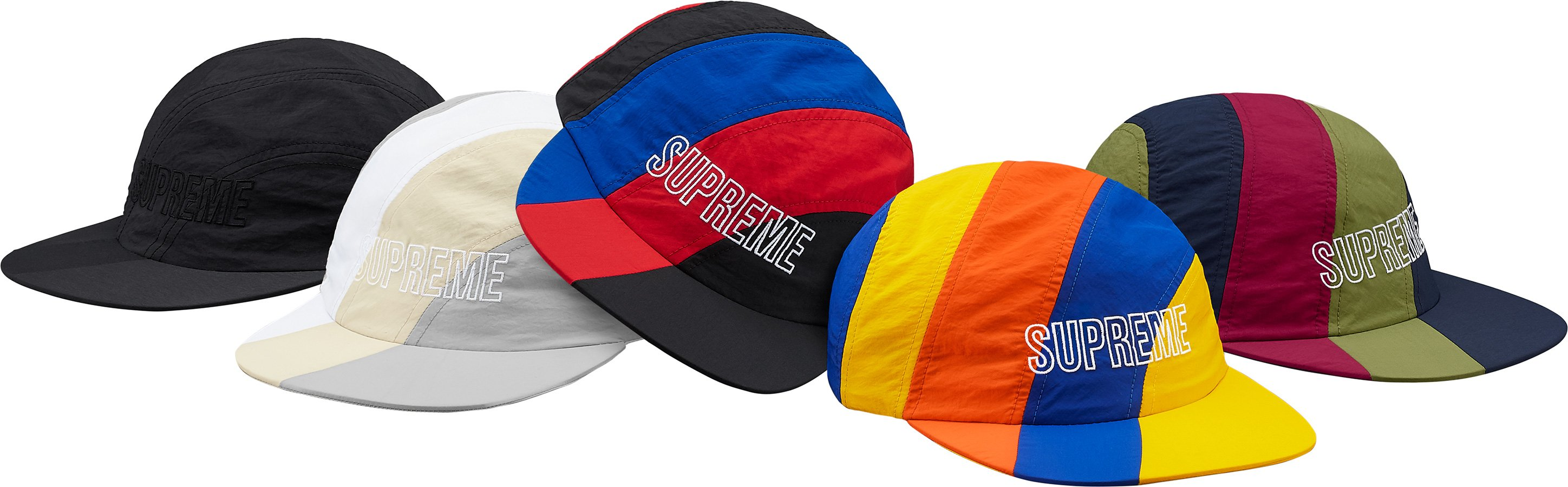 supreme-18ss-spring-summer-diagonal-stripe-nylon-hat