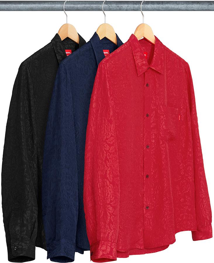 supreme-18ss-spring-summer-floral-silk-jacquard-shirt