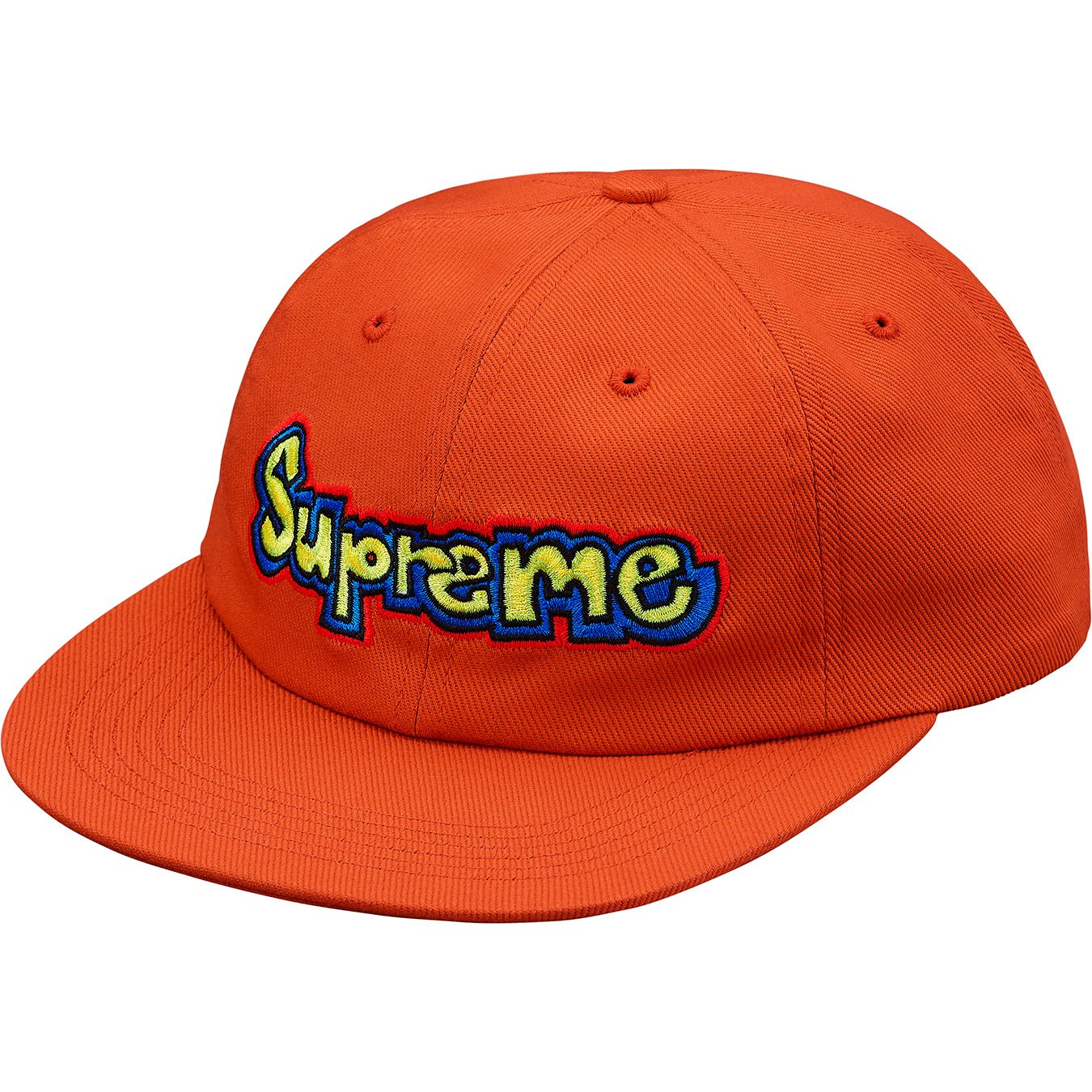supreme-18ss-spring-summer-gonz-logo-6-panel