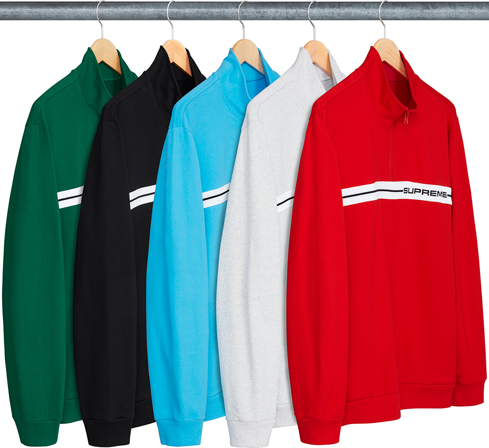 supreme-18ss-spring-summer-half-zip-warm-up