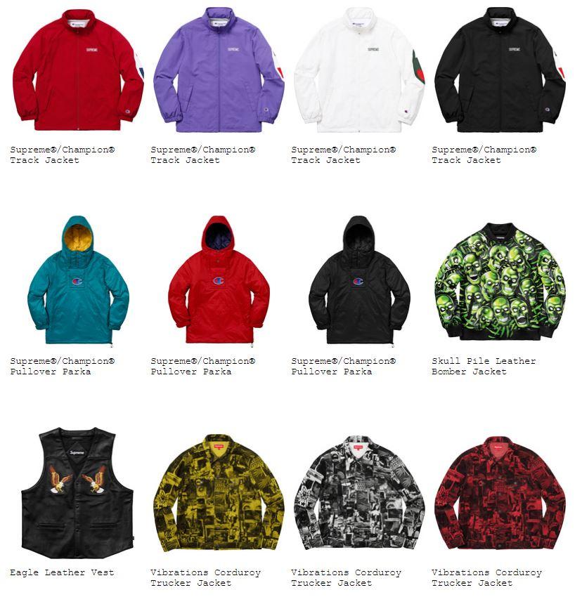 supreme-18ss-spring-summer-jackets