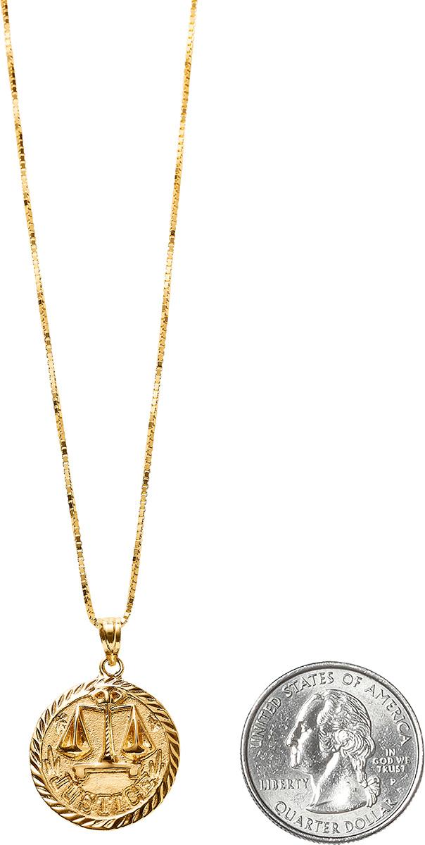 supreme-18ss-spring-summer-justice-gold-pendant