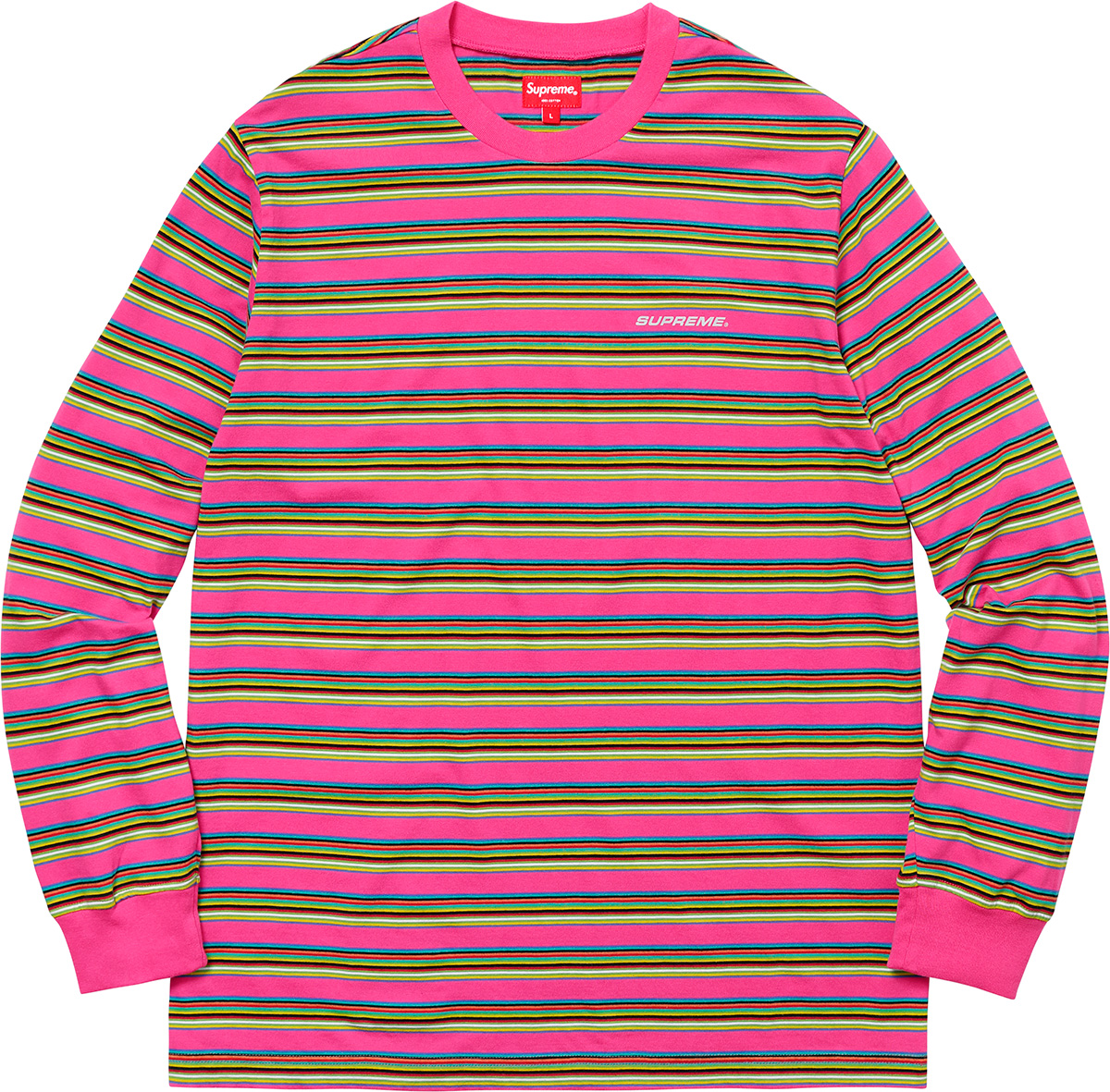 supreme-18ss-spring-summer-multi-stripe-l-s-top