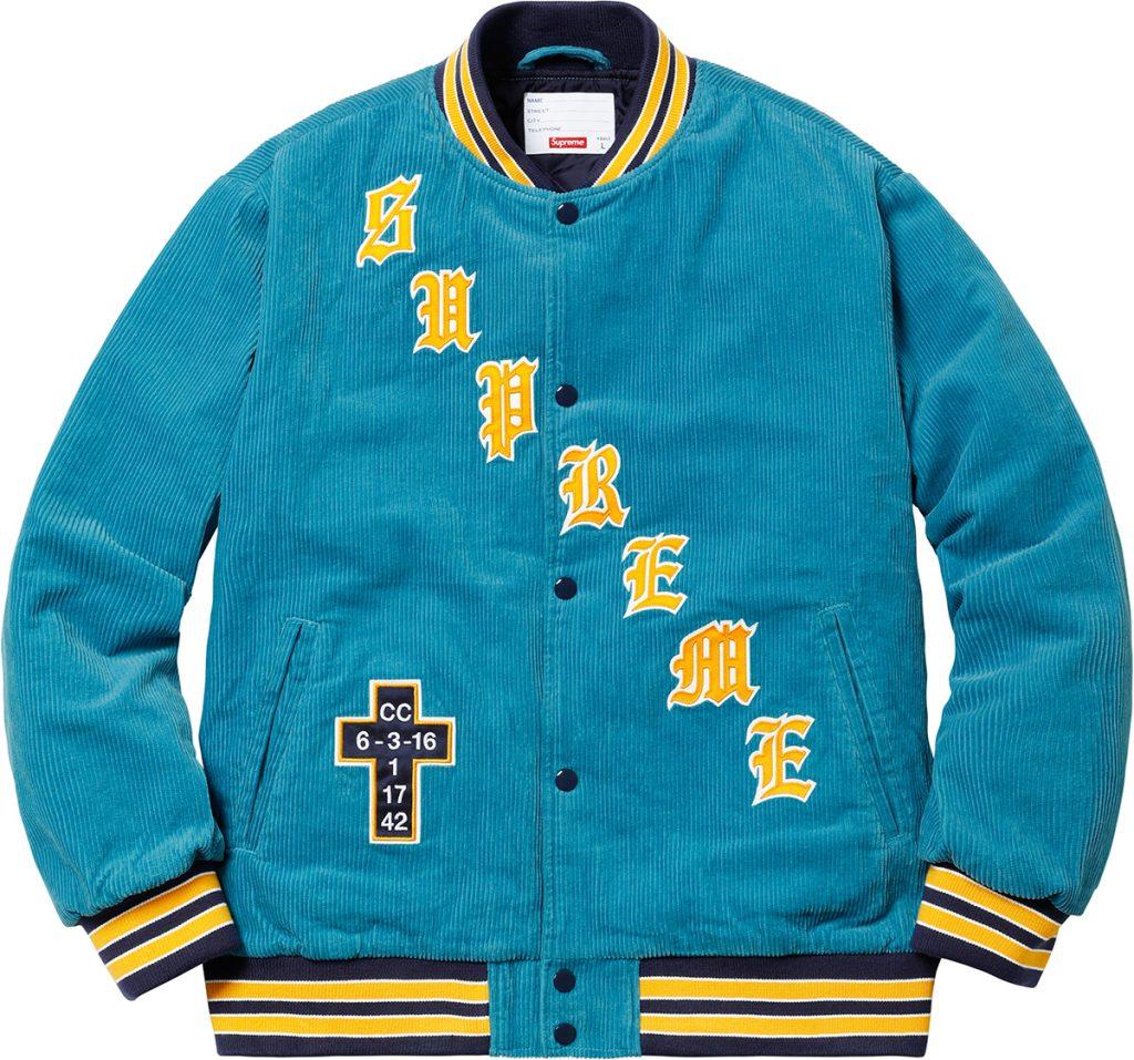supreme-18ss-spring-summer-old-english-corduroy-varsity-jacket