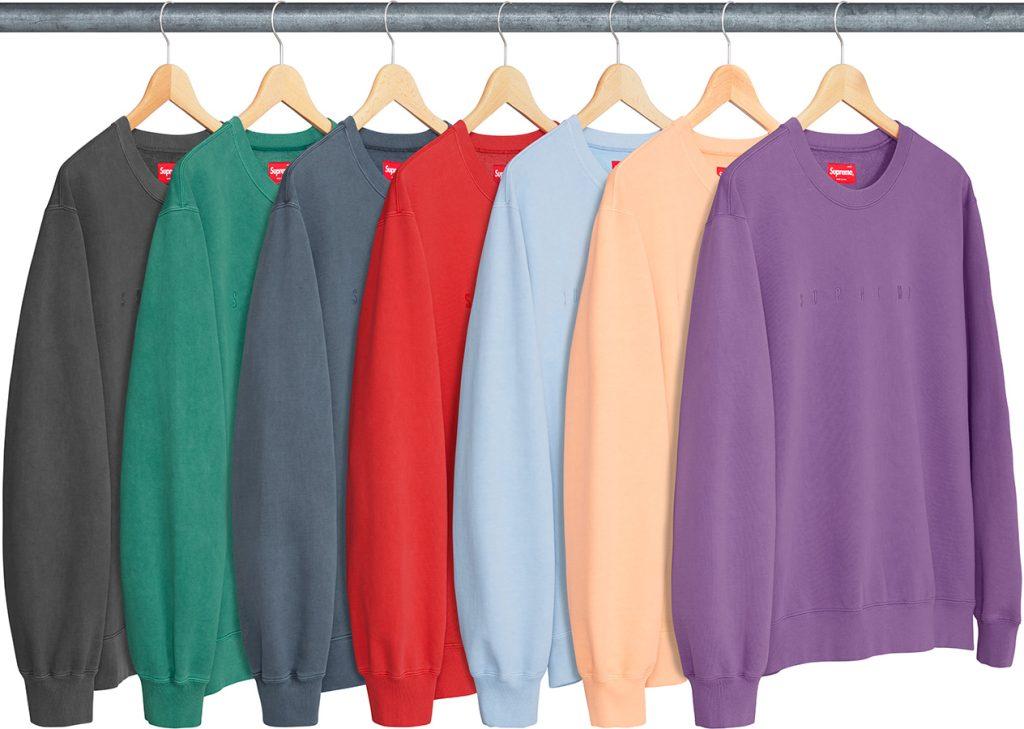 supreme-18ss-spring-summer-overdyed-crewneck-sweatshirt