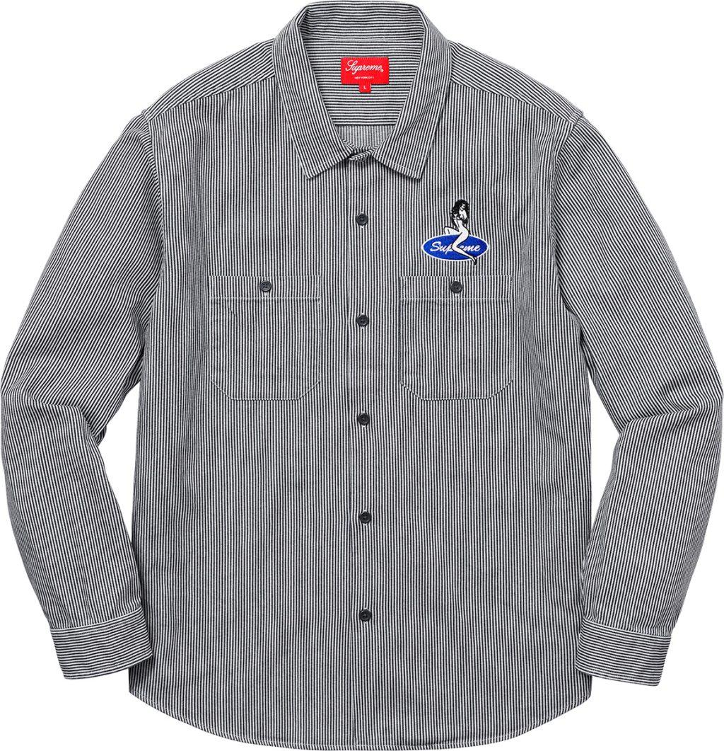 supreme-18ss-spring-summer-pin-up-work-shirt