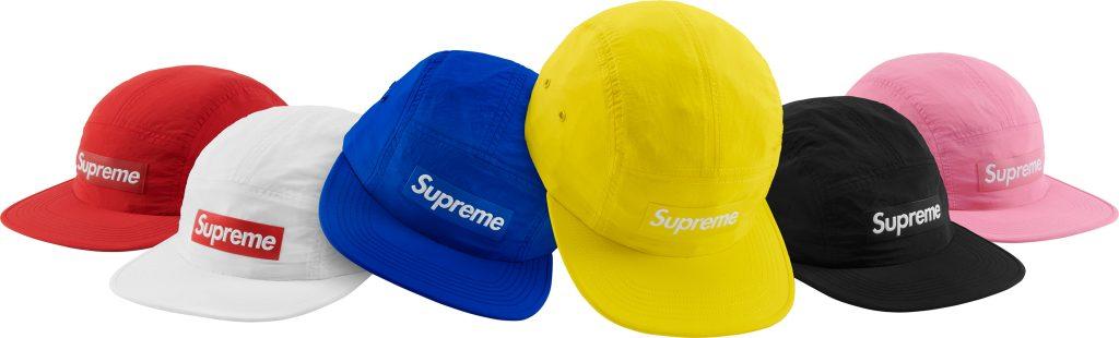 supreme-18ss-spring-summer-raised-logo-patch-camp-cap
