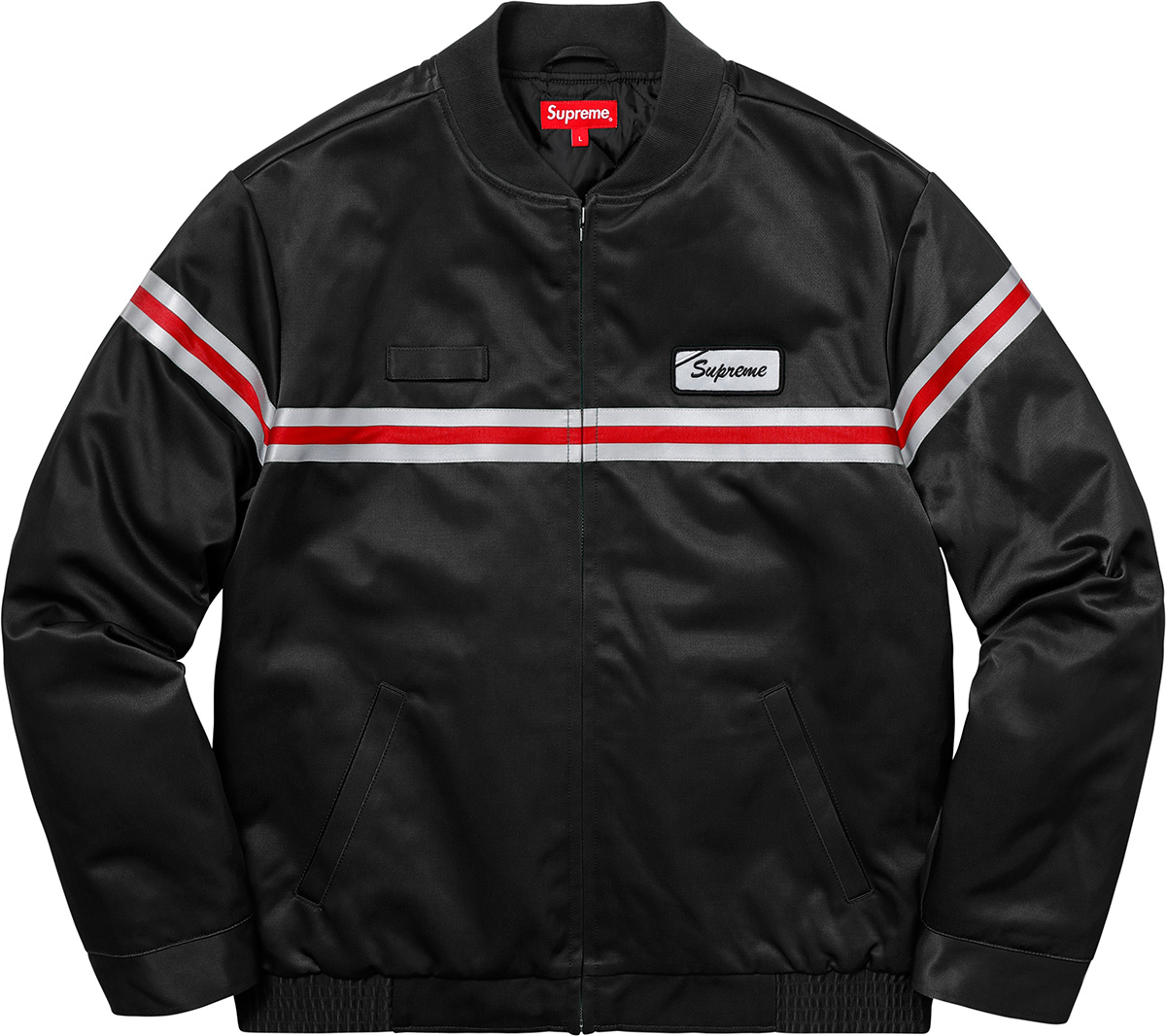 supreme-18ss-spring-summer-reflective-stripe-work-jacket