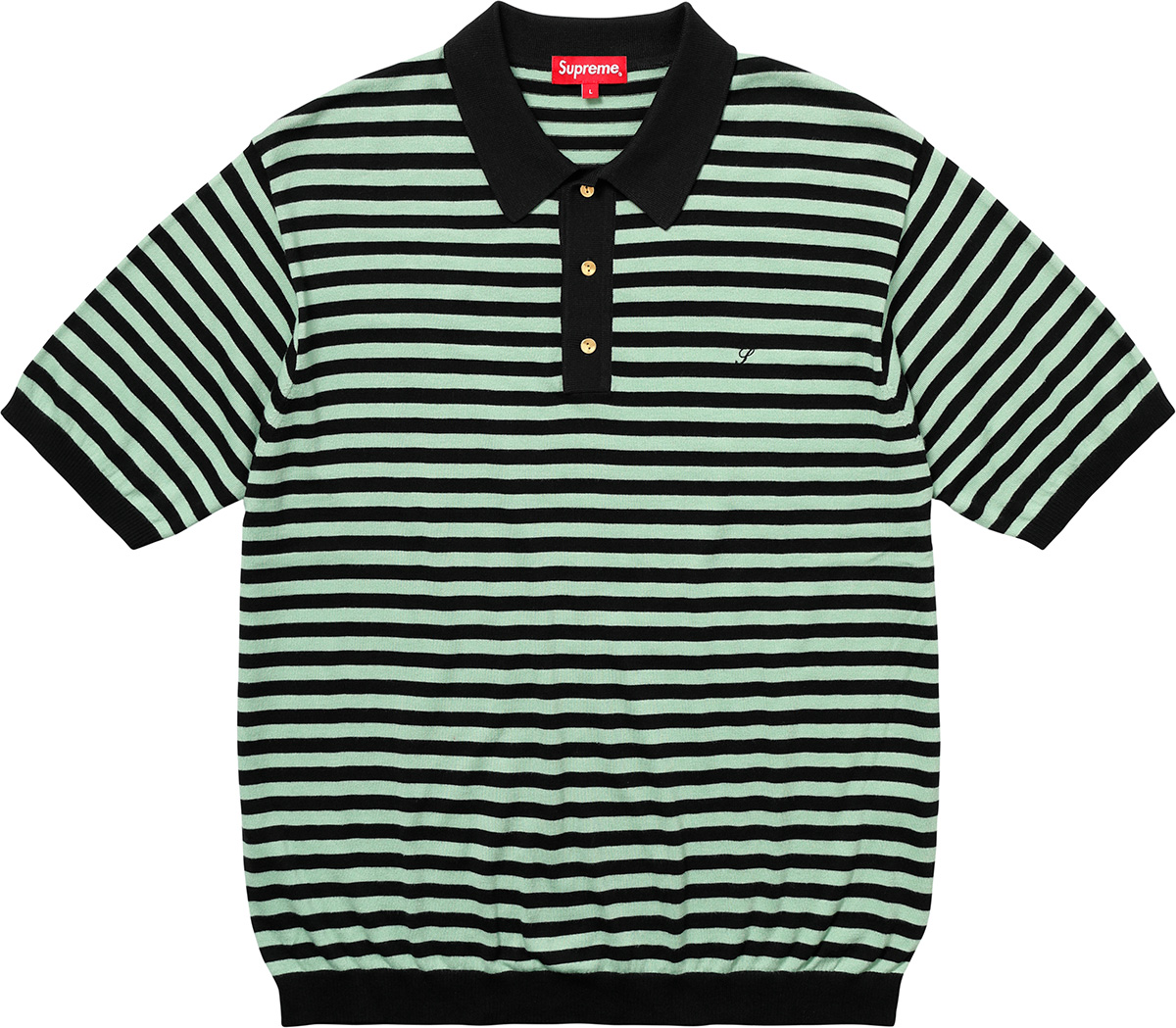 supreme-18ss-spring-summer-striped-knit-polo