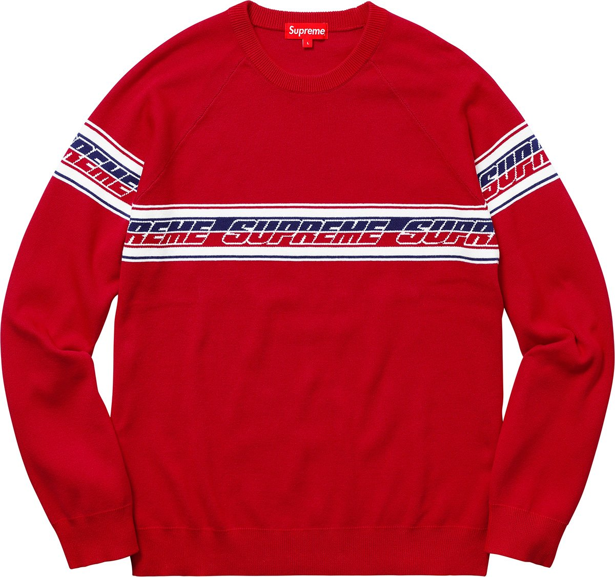 supreme-18ss-spring-summer-striped-raglan-sweater