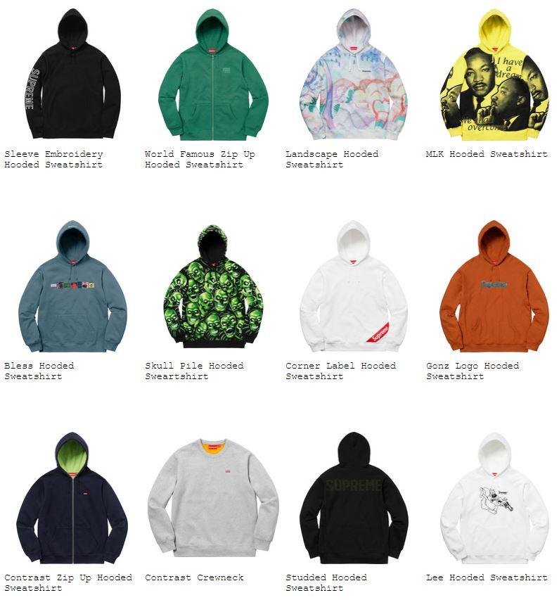 supreme-18ss-spring-summer-sweatshirts