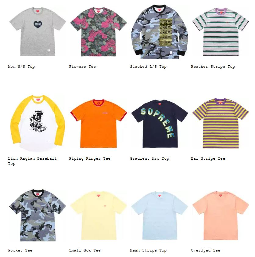 supreme-18ss-spring-summer-tops-sweaters