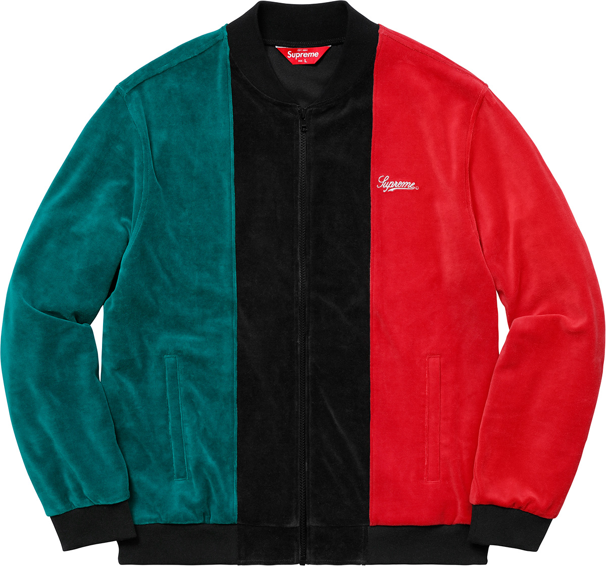 supreme-18ss-spring-summer-velour-zip-up-jacket