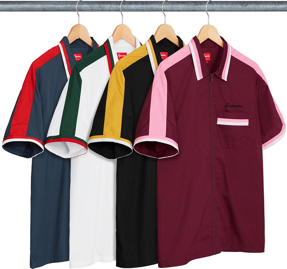 supreme-18ss-spring-summer-zip-up-work-shirt