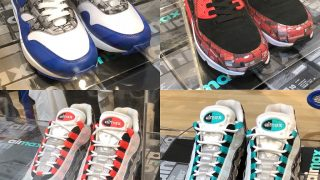 atmos × NIKE AIR MAX 1 & 90 & 95 WE LOVE NIKEが5/26にSNKRSなどで発売予定