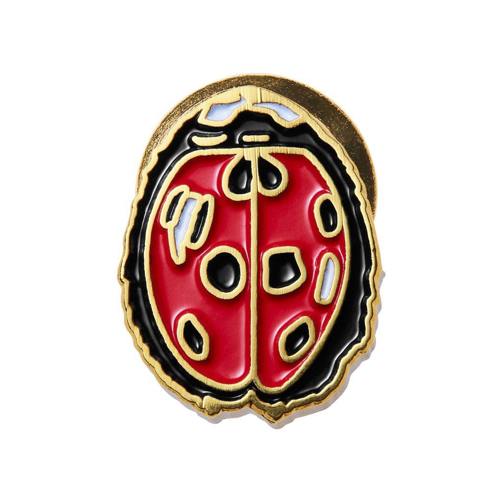 supreme-18ss-spring-summer-ladybug-pin
