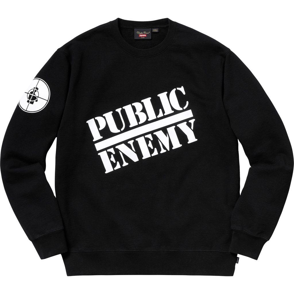 supreme-undercover-public-enemy-18ss-week4-release-20180317-crewneck-sweatshirt