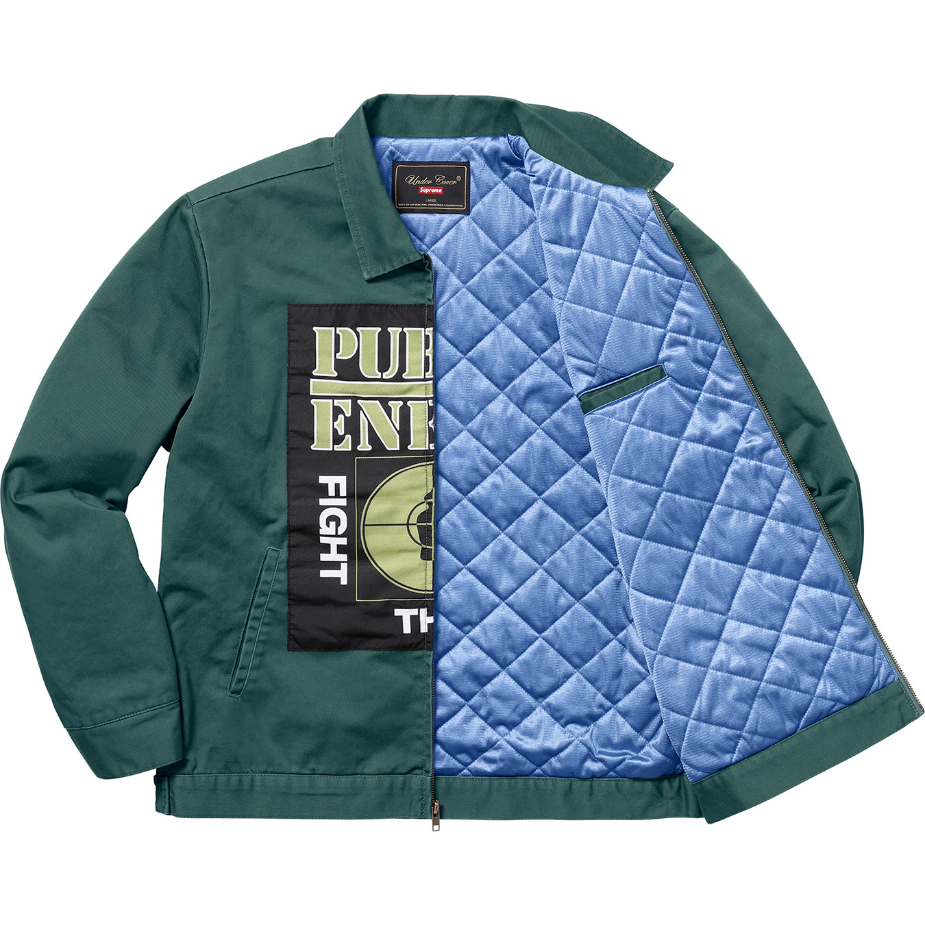 supreme-undercover-public-enemy-18ss-week4-release-20180317-work-jacket-with-woven-patch