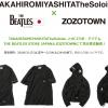 THE BEATLES × TheSoloist.のコラボアイテムが3/17~3/24まで受注販売予定