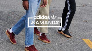 adidas KAMANDA BLACK & BURGUNDYが4/28に国内発売予定【直リンク有り】