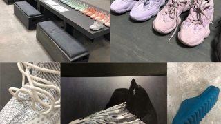KANYE WESTがYEEZYシリーズの最新モデルを一挙公開