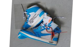OFF-WHITE × NIKE AIR JORDAN 1 POWDER BLUE / UNCが6/23に国内発売予定【直リンク有り】