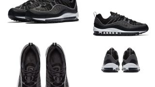 NIKE AIR MAX 98 SE BLACK ANTHRACITEが5/31に国内発売予定