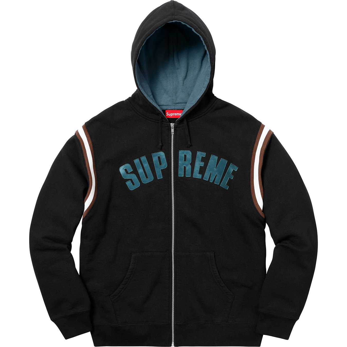 supreme-18ss-spring-summer-jet-sleeve-zip-up-hooded-sweatshirt