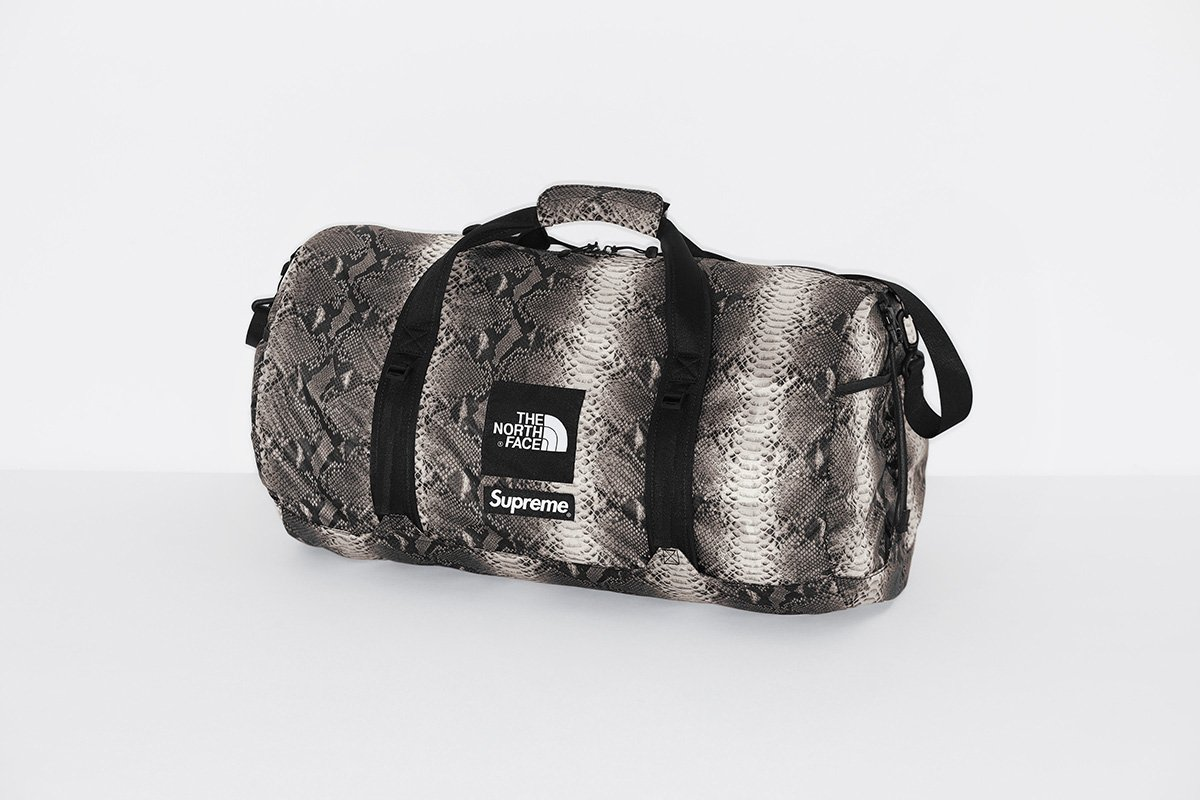 supreme-the-north-face-18ss-2nd-delivery-release-week16-20180609-snakeskin-flyweight-duffle-bag