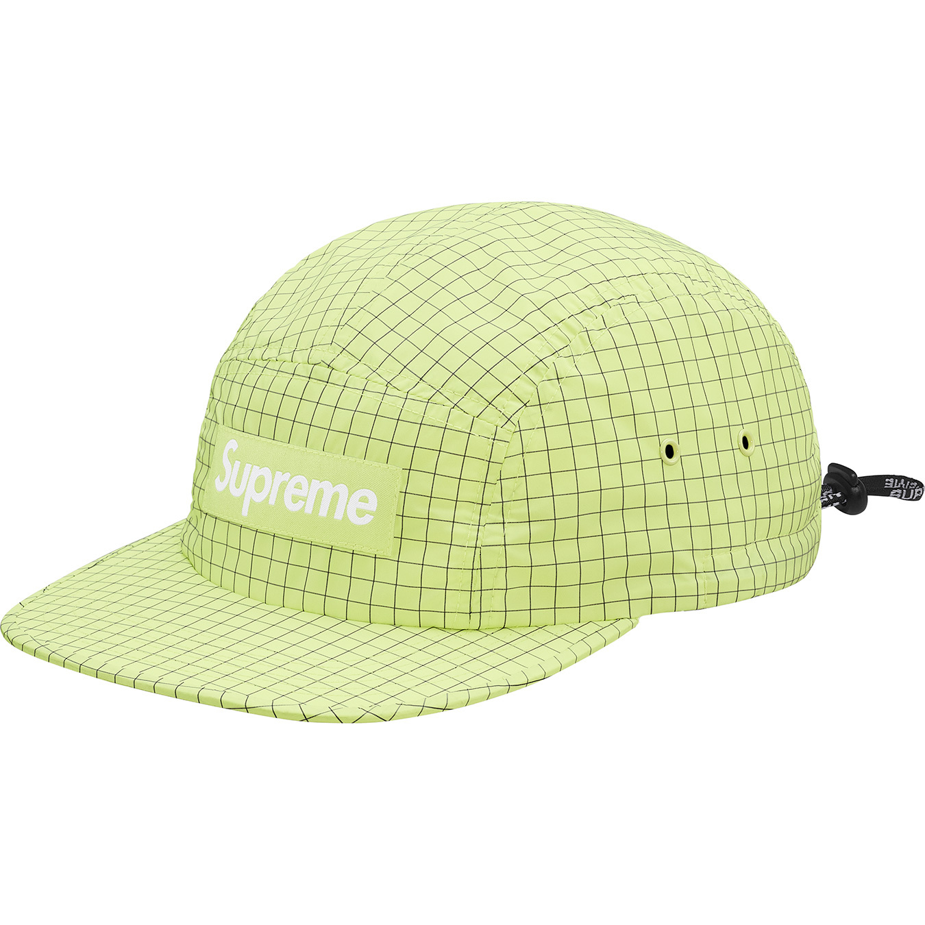 supreme-18ss-spring-summer-contrast-ripstop-camp-cap