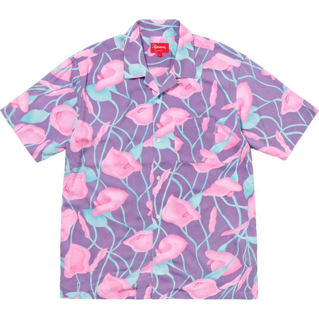 supreme-18ss-spring-summer-lily-rayon-shirt