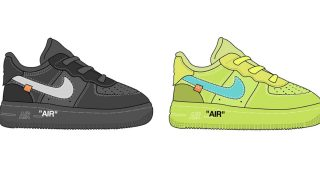 OFF-WHITE × NIKE AIR FORCE 1 LOW INFANTが11月に発売予定か?