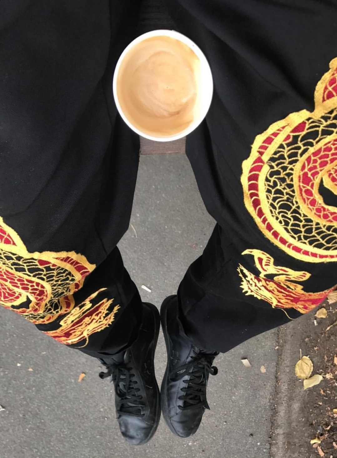 supreme-18aw-fall-winter-dragon-work-pant-leak