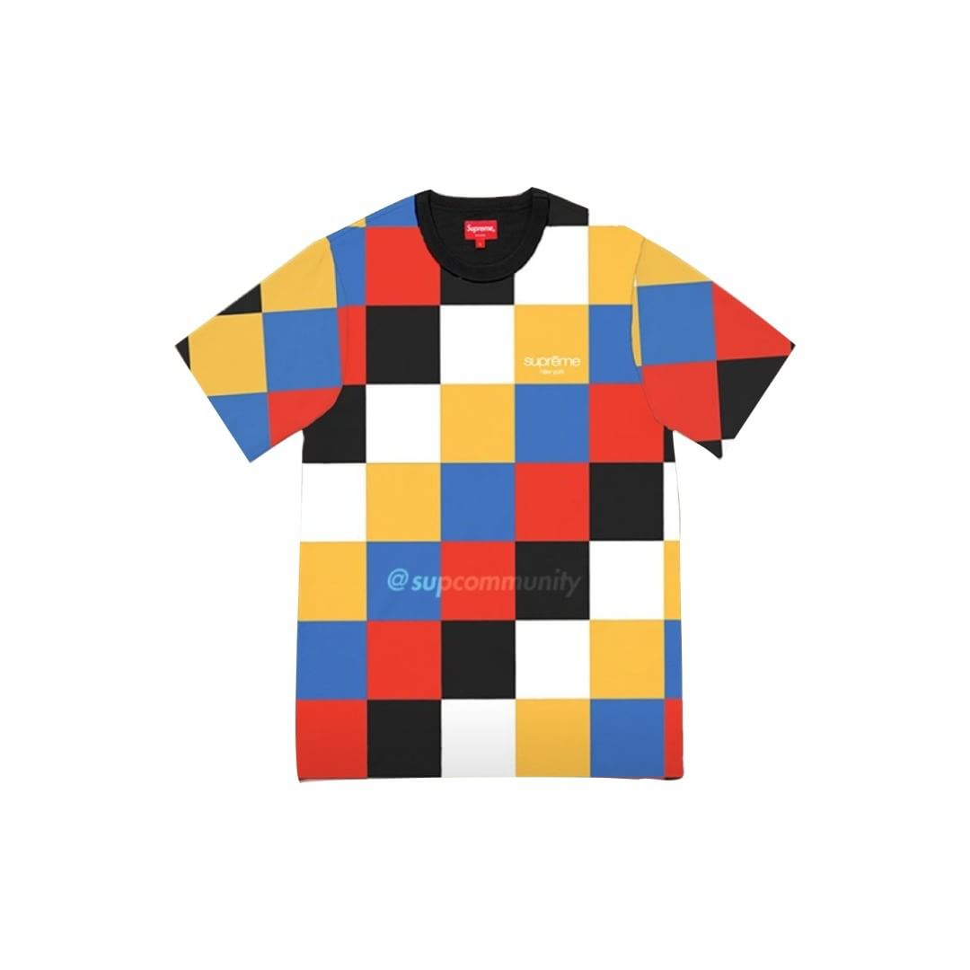supreme-18aw-fall-winter-multicoloured-checkered-classic-logo-top