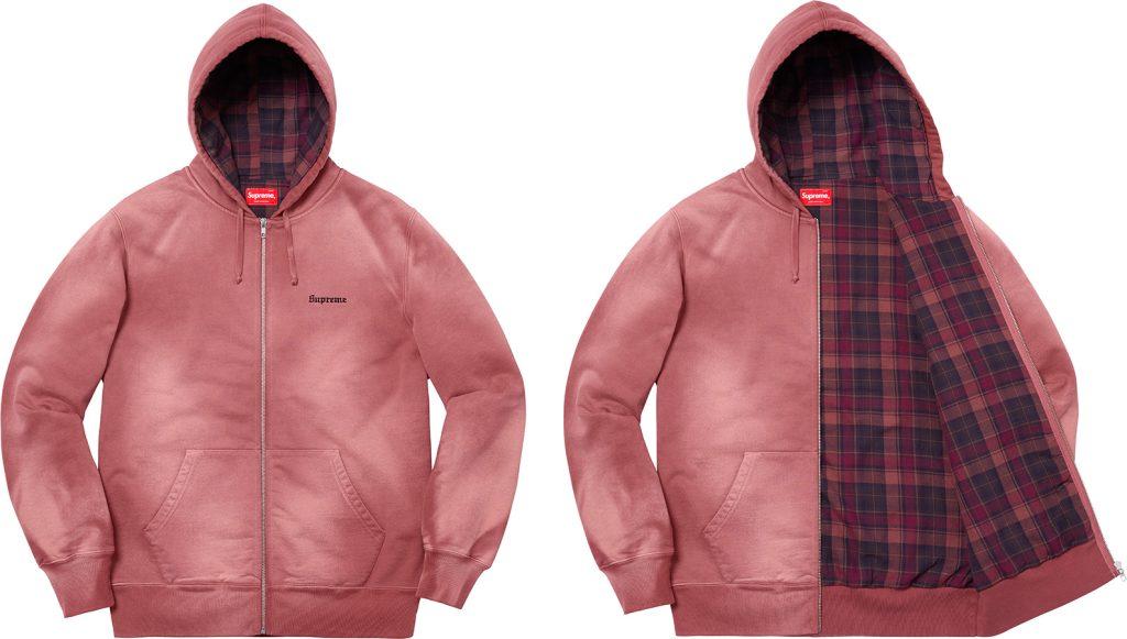 supreme-18aw-fall-winter-bleached-zip-up-sweatshirt