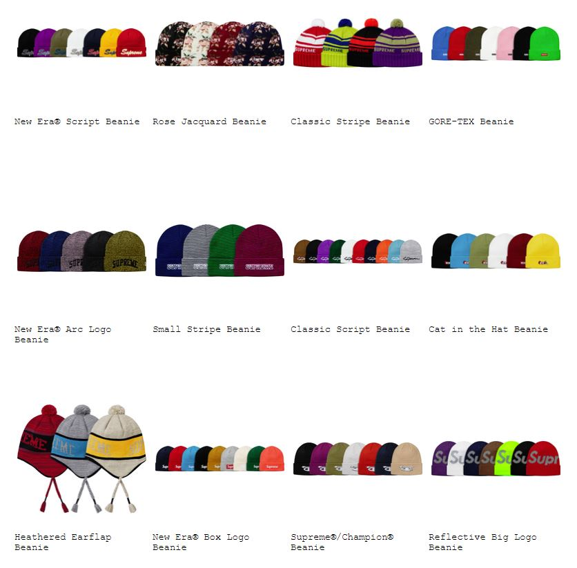 supreme-18aw-fall-winter-collection-caps