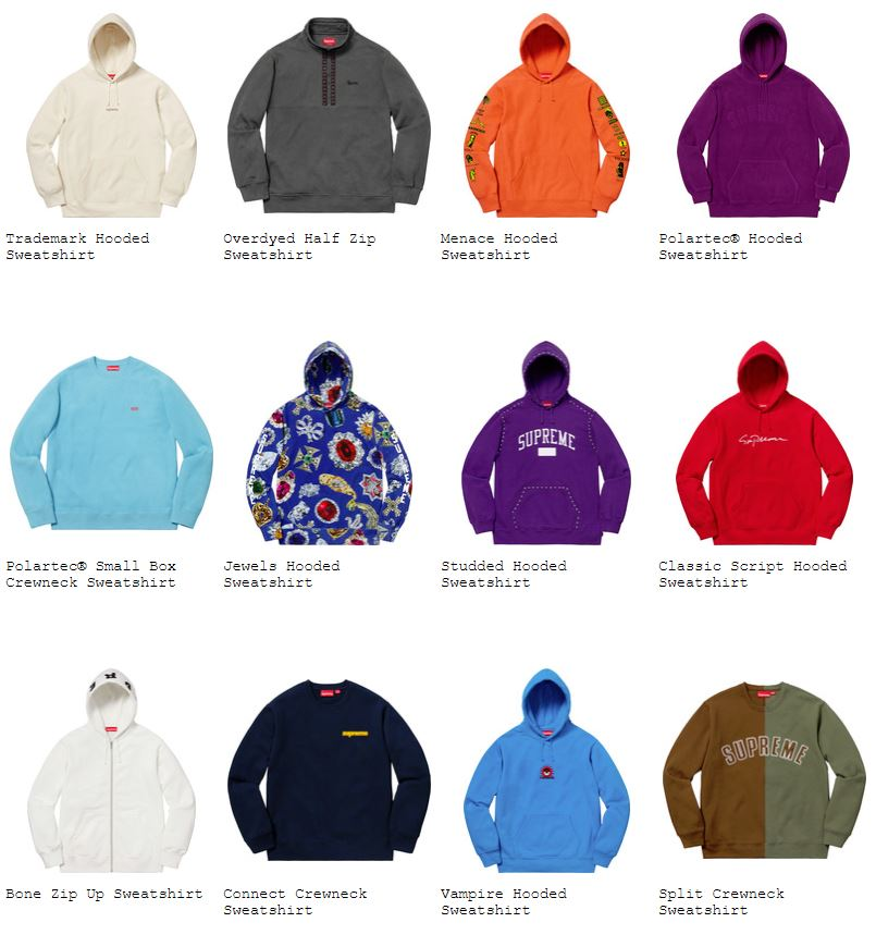 supreme-18aw-fall-winter-collection-sweatshirts