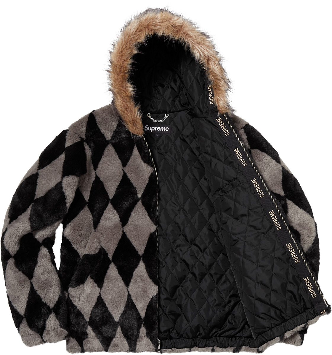 supreme-18aw-fall-winter-diamond-faux-fur-jacket