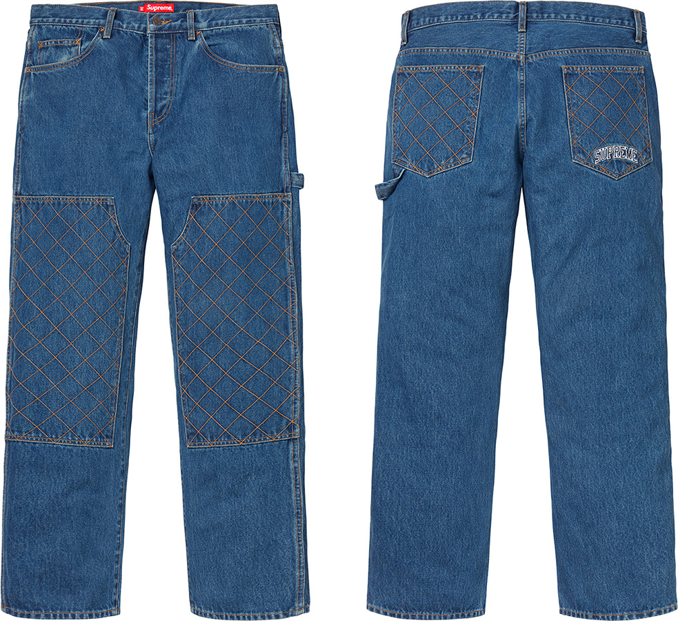 supreme-18aw-fall-winter-diamond-stitch-carpenter-jean