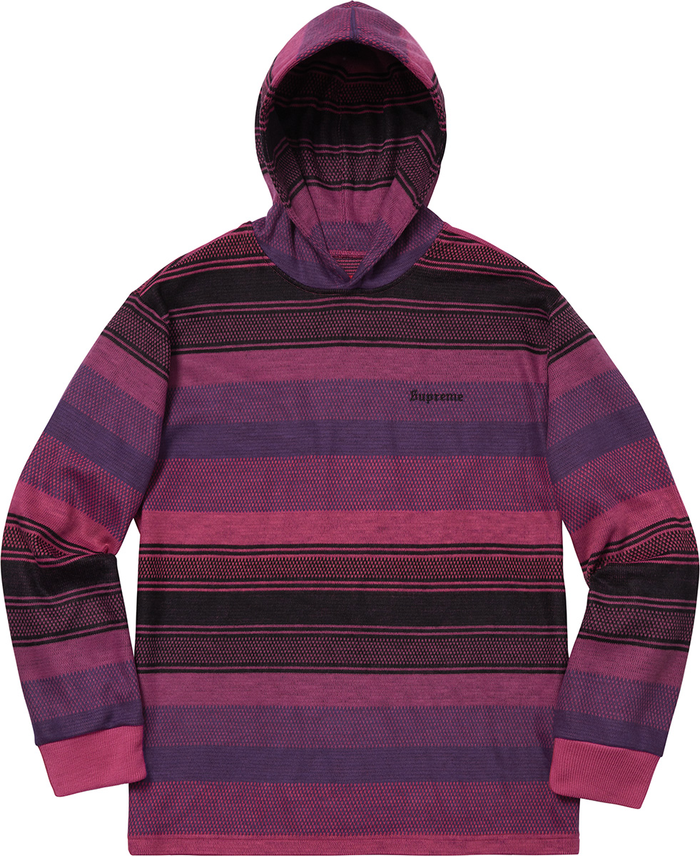 supreme-18aw-fall-winter-knit-stripe-hooded-l-s-top