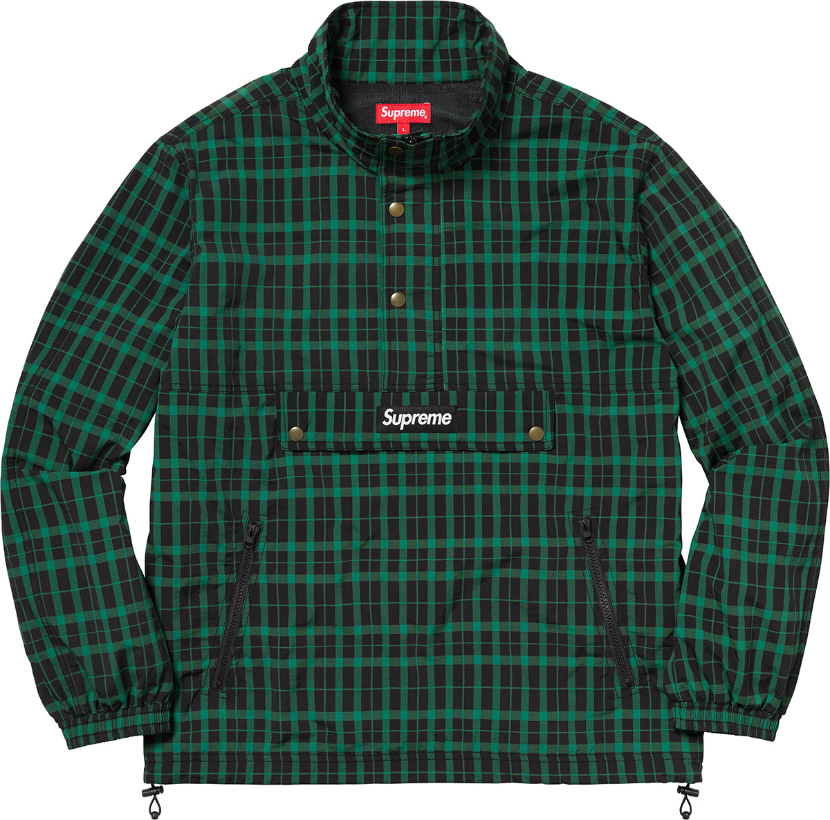 supreme-18aw-fall-winter-nylon-plaid-pullover